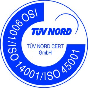 ISO 9001 / ISO 14001 / ISO 45001_Logo Tuv Nord Cert GmbH